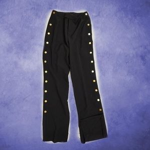 Romeo & Juliet Couture Stylish Side Button Pants